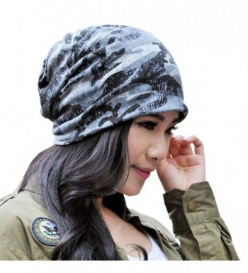 Cashmere Hedging Knitted Beanies Camouflage 1