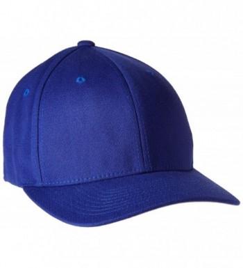 Flexfit mens 6-Panel Structured Mid-Profile Cotton Twill Cap(5001) - Navy - C5113MH4WAX