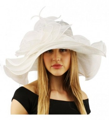 Summer Kentucky Layers Feathers Hat