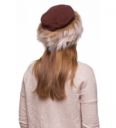 Futrzane Fleece Winter Ladies Women in Women's Bomber Hats
