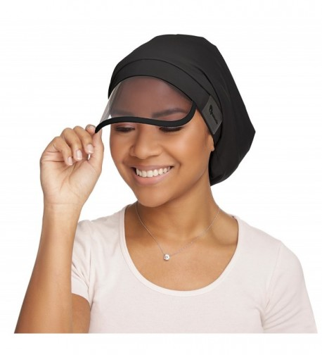 Hairbrella Rain Hat - Black - C2183GTG45Z