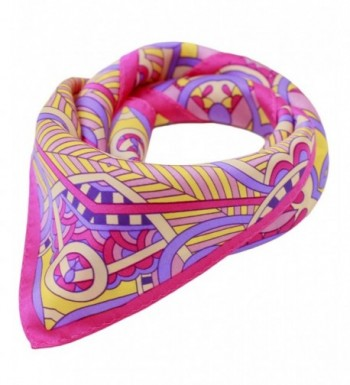 Ayli Women's Mulberry Silk Scarf Various Style - Ornamental Floral 1 - CC1282KT8JZ