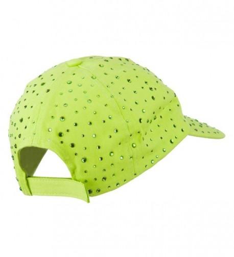 SS Hat Bejeweled Glitter Baseball in Women's Baseball Caps