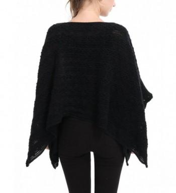 Ferand Casual Batwing Crochet Pullover