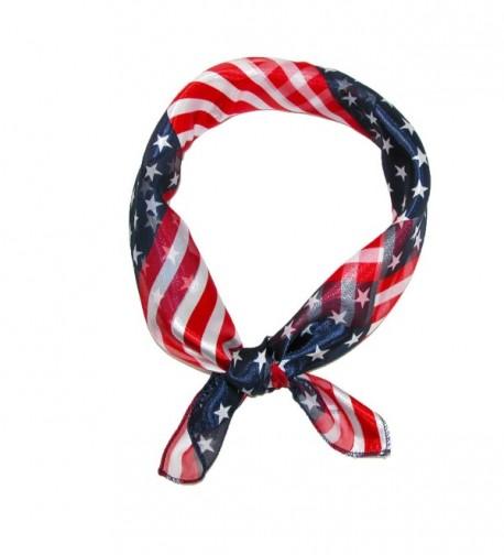 CTM Womens Stripes American Square