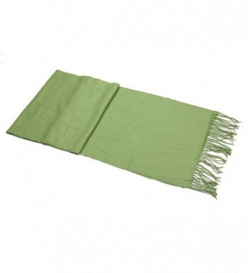 Achillea Solid Cashmere Winter Unisex in Cold Weather Scarves & Wraps