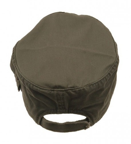 MG Zippered Enzyme Army Cap Olive in Men's Baseball Caps