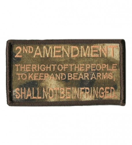 "Realtree Xtra Tactical Patches - 2""x3.5"" - 2nd Amendment - CW12N284LNV"