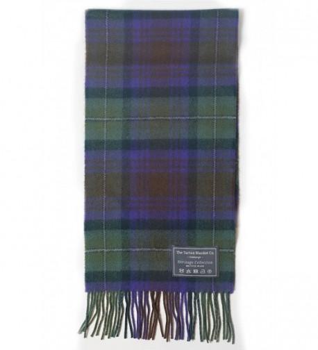 The Tartan Blanket Co. Scottish Lambswool Scarf Isle of Skye Tartan - CA12E181DS1