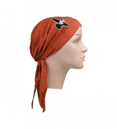 Pretied Headscarf Chemo Modesty Hummingbird