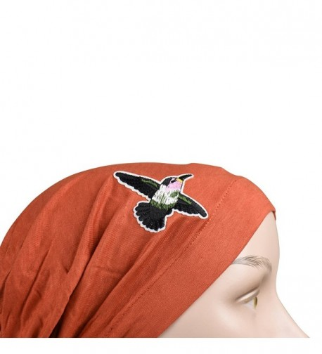 Pretied Headscarf Chemo Modesty Hummingbird in Fashion Scarves