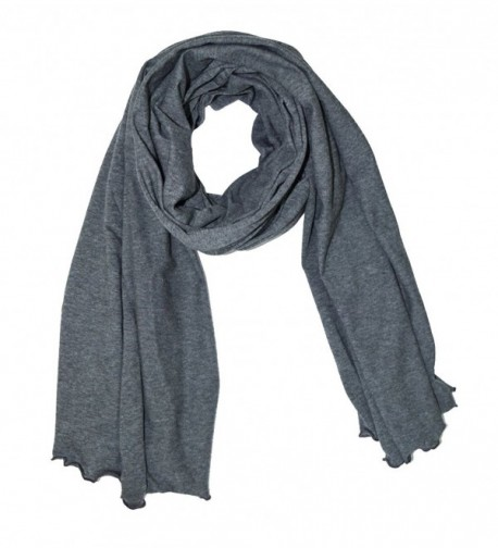 Cottonique Women's Hypoallergenic Shawl made from 100% Organic Cotton - Melange - CE12LGBNFNH