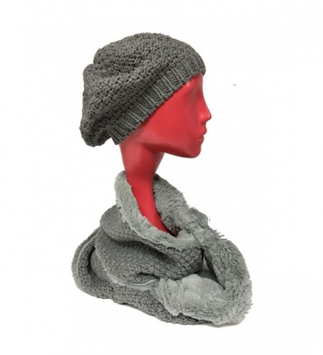W4W Infinity Complementing Slouchy Knitted - Gray - C312NVB9IDM