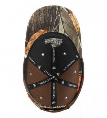 Legendary Whitetails Canvas Workwear Chocolate in Men's Baseball Caps