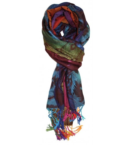 Ted Jack Feathers Pashmina Multicolor