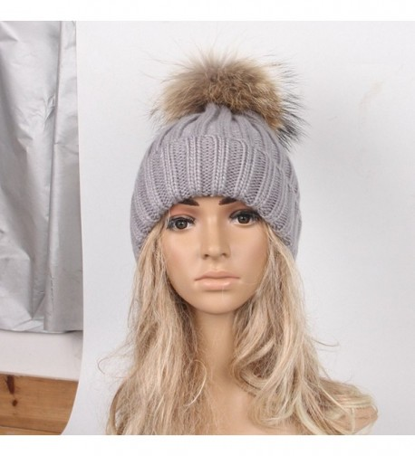 DEESEE Beanie Winter Crochet Hemming