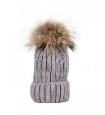 DEESEE Beanie Winter Crochet Hemming in Women's Skullies & Beanies