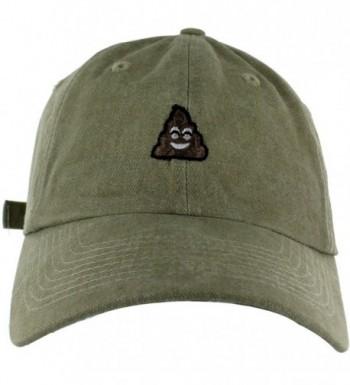 Poop Dad Hat Embroidered Basebal Cap - Imperial Khaki - C1182Z3M7AU