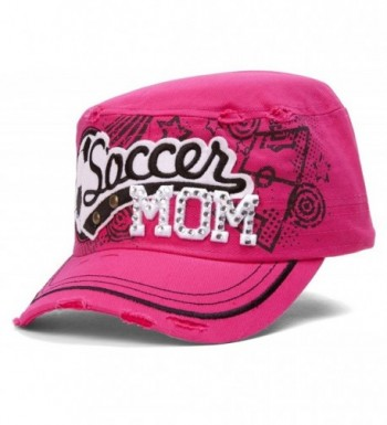 TopHeadwear Soccer Distressed Adjustable Cadet