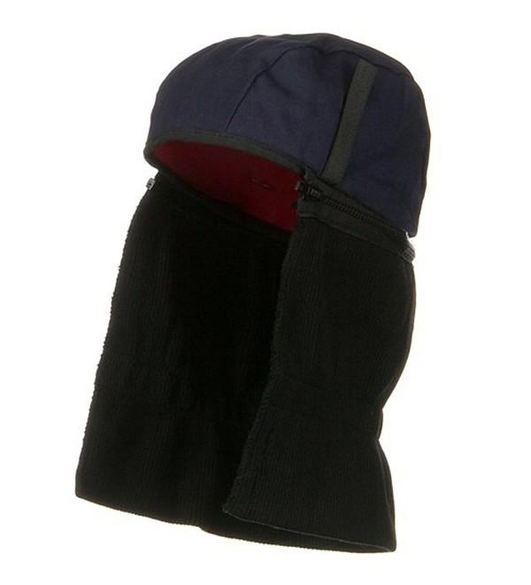 Quilted Hard Hat Liner - Black Blue - CH11J6QDEM7