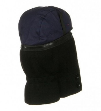 Quilted Hard Liner Black Blue in Men's Balaclavas