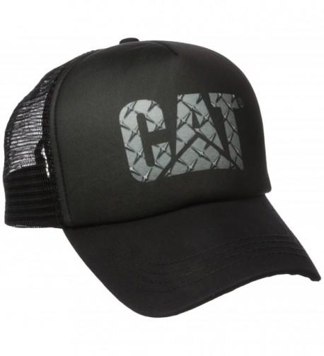 Caterpillar Men's Custom Logo Cap - Diamond Plate - CD17YK0NAKY