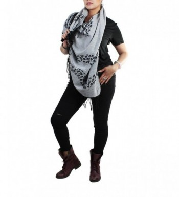 Leopard Print Andes Front Poncho in Wraps & Pashminas