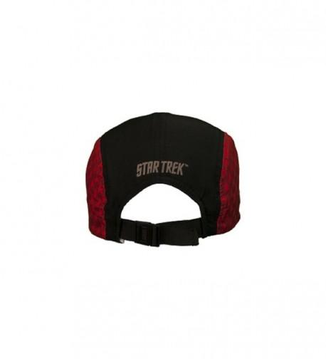 Star Trek Running Hat Red in Men's Baseball Caps