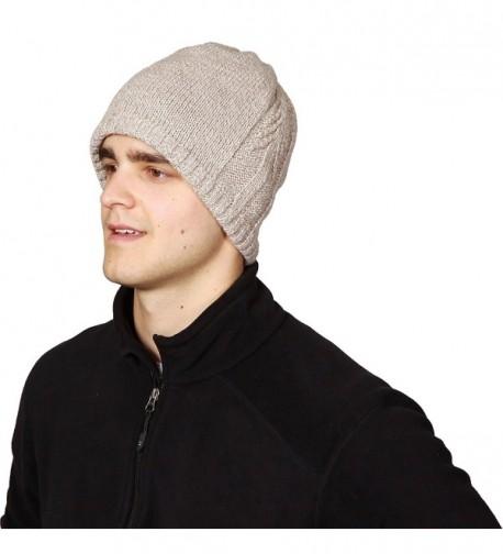 a01553711fa Lifestyle Men s Lone Tree Ragg- Fleece Lined Ragg Wool Beanie ...