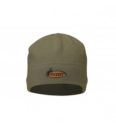Avery Outdoors Inc 48103 Fleece Skull Cap Dark Moss - C2112DJVX8V