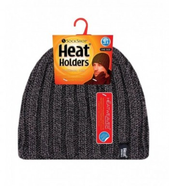 Heat Holders Ribbed Knitted Thermal