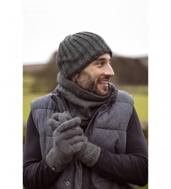 Heat Holders Ribbed Knitted Thermal in Men's Skullies & Beanies