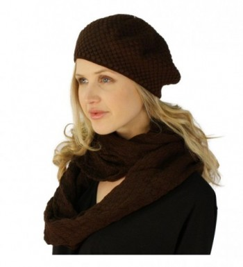 Ladies Winter Chunky Hat Infinity