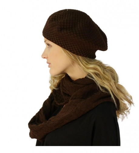 Ladies Winter Chunky Hat Infinity in Fashion Scarves