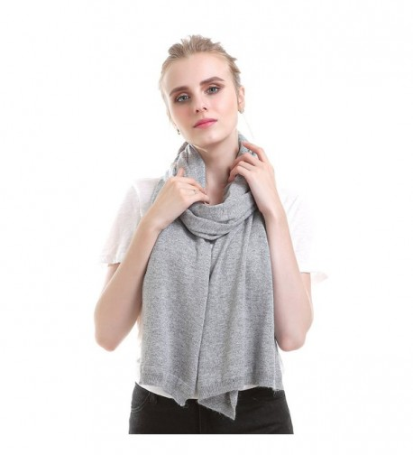 Vemolla Women Knitted Solid Shawl