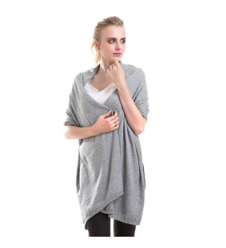 Vemolla Women Knitted Solid Shawl in Cold Weather Scarves & Wraps