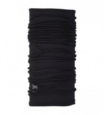 BUFF Lightweight Merino Wool Multifunctional Headwear - Black - C21146O10DT
