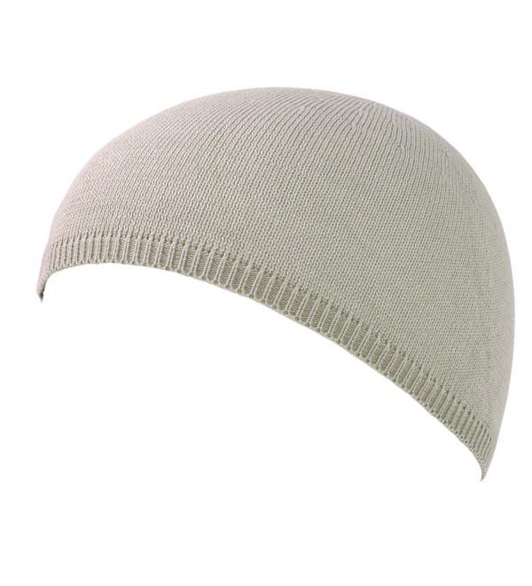 eaa098767 Charm Mens Cool Max Sports Skull Cap Beanie Hat Light Gray CD11BZPSOIL