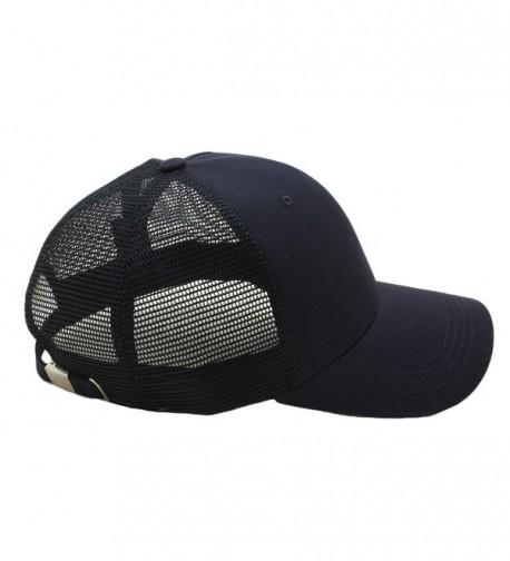Size Plain Baseball Curved Trucker in Men's Baseball Caps