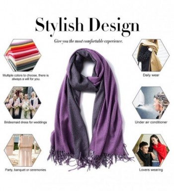 MaaMgic Womens Cashmere Pashmina Shawls in Cold Weather Scarves & Wraps