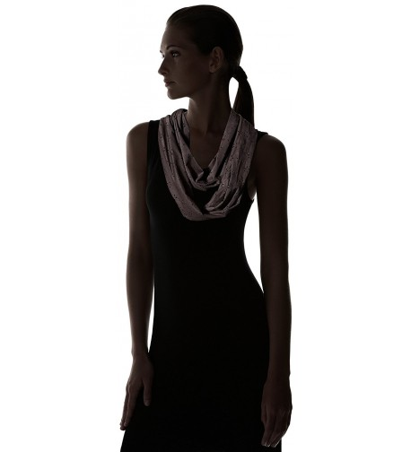 Womens Faux Suede Scarf Black in Fashion Scarves