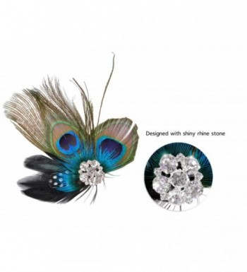 Fascigirl Fascinator Peacock Headdress Headwear