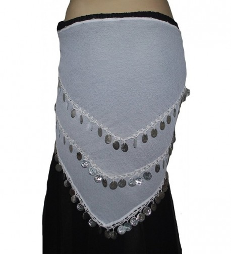 Wevez Belly Dance Costume Silver