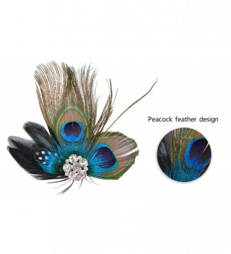 Fascigirl Fascinator Peacock Headdress Headwear in Women's Headbands in Women's Hats & Caps