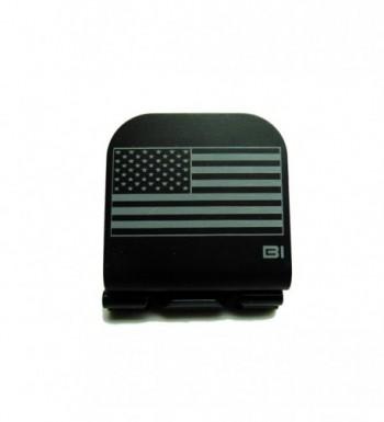 American Flag Laser Etched Hat Clip Black - CS12BRUTG4T