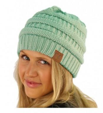 Unisex Winter Chunky Stretch Hat