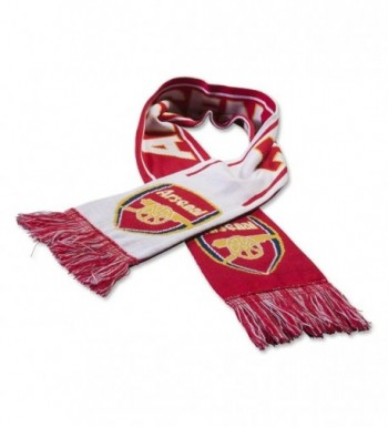 Arsenal FC Woven Winter Scarf (Red/White/Yellow) - CW11P6LXGUV