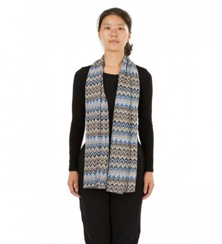 HUAN XUN Stripe Chevron Infinity Circle Scarf Soft Lightweight Floral Scarf Shawl - Scarf Chevron Crochet - Black - C511DUFP1HL