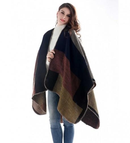 Aukmla Womens Tartan Pashminas Scarves in Fashion Scarves