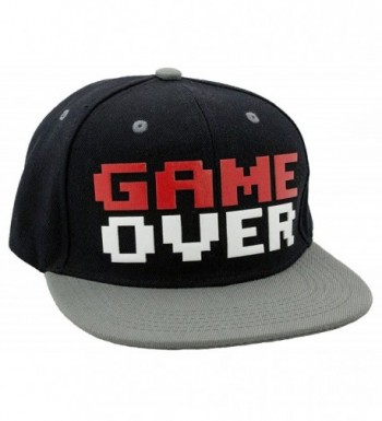 N-Style Game Over Snapback Baseball Hat - CX1281OW9QL